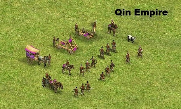 Update model for Qin army