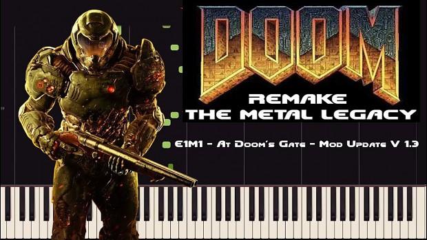 E1M1   Doom Remake   The Metal Legacy   V1.3 preview