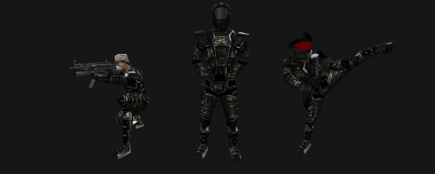 Improved HEV special forces scientist