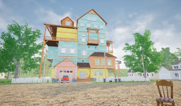 Hello Neighbor Alpha 1 New Update