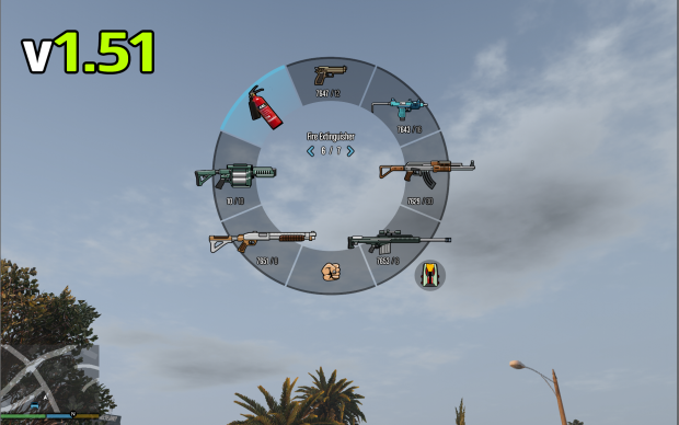 Fixed Fire Extinguisher Hud Icon For Weapon Wheel v1.51c