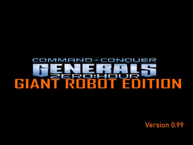 C&C Generals Zero Hour: Giant Robot Edition v.099