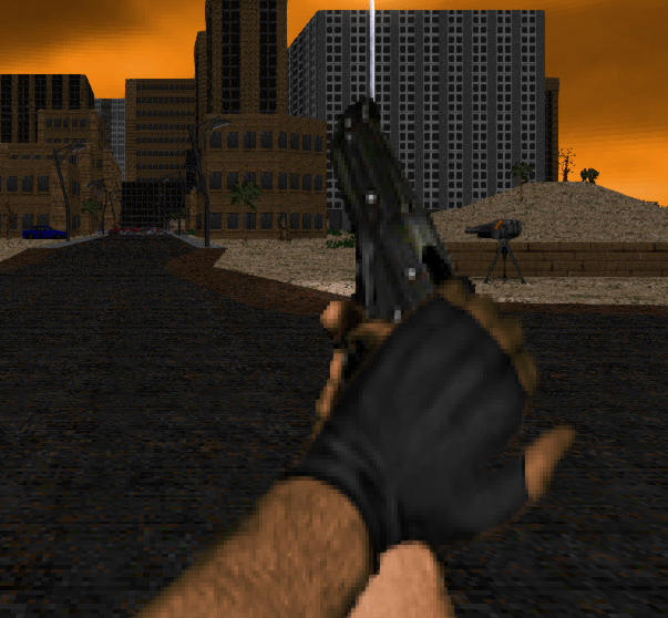 Broken Pistol Slide for Brutal Doom v21