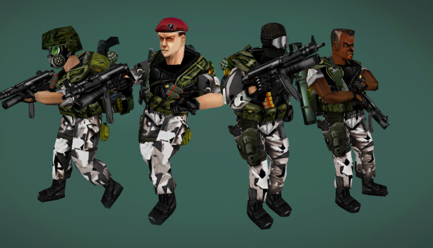 The Especial Forces H.E.C.U