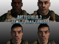BF3 Usmc and Euro Forces (Retexture HD)