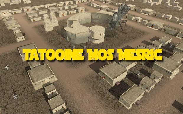 Tatooine Mos Mesric (Old Path Texture)