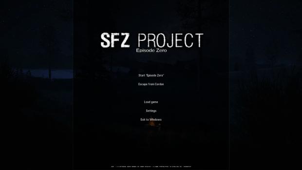 SFZ Project: Episode Zero English Translation Repack 1.0