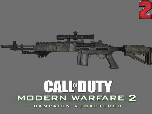 [MW2R] M14 EBR (Update 1)