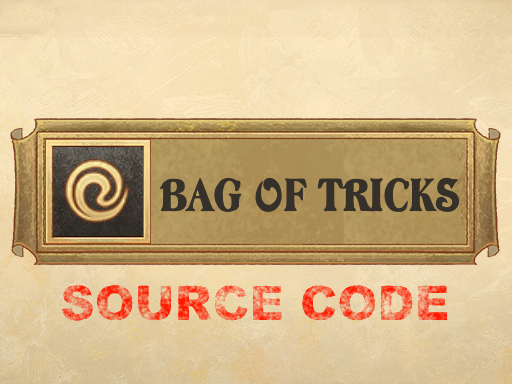 Source Code - Bag of Tricks - Cheats and Tools - 1.16.0-rerelease7