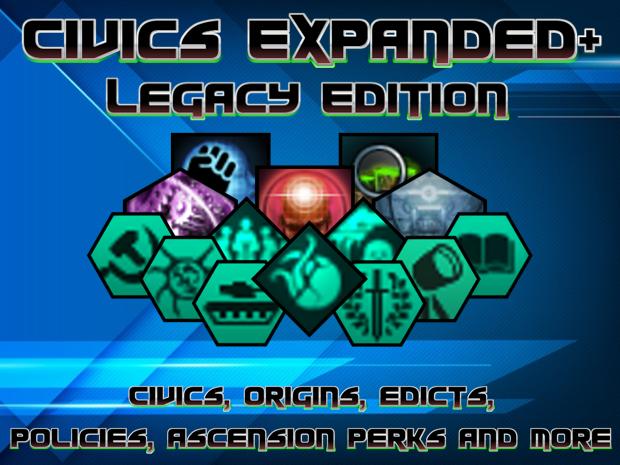 Civics Expanded+ (Legacy Version) 1.3.2.4