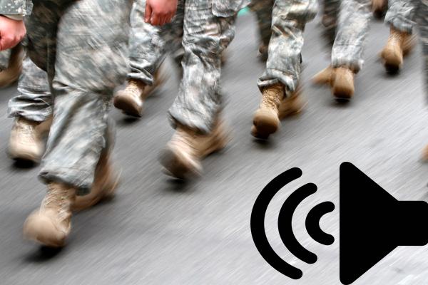 Alternative walking sound from EFT