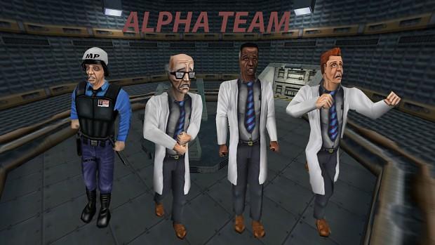 The Alpha Team!