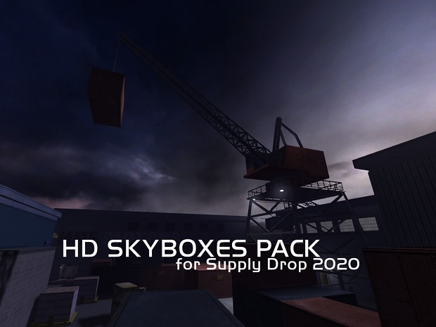 HD Skyboxes pack - for Supply Drop 2020 singleplayer