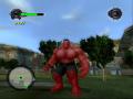 Skin of Red Hulk