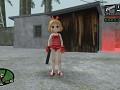 Hyperdimension Neptunia Peashy Swimsuit skin for GTA SA