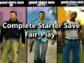 GTA Trilogy Complete Starter Save - Fair-Play