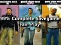 GTA Trilogy 99% Complete Save - Fair-Play