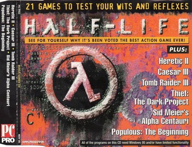 PC Pro Bonus Games CD-Rom