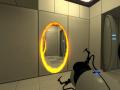 Bright Portals and Clean Portal Gun