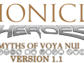 Bionicle Heroes: Myths of Voya Nui: 1.1 OBSOLETE