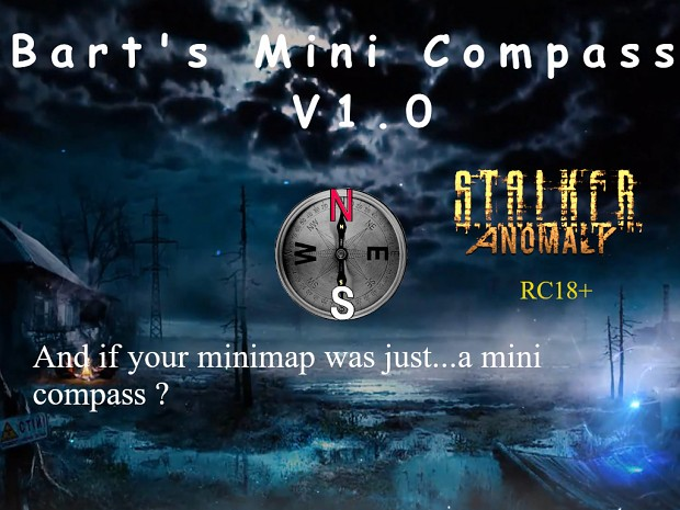 Bart's Mini Compass V.1.0 RC18+