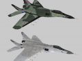 Russian and German MiG-29