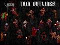 QC:DE  Thin Outlines