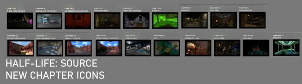 Half-Life: Source New Chapter Icons