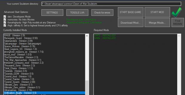 DoW Mod Manager v2.1.5