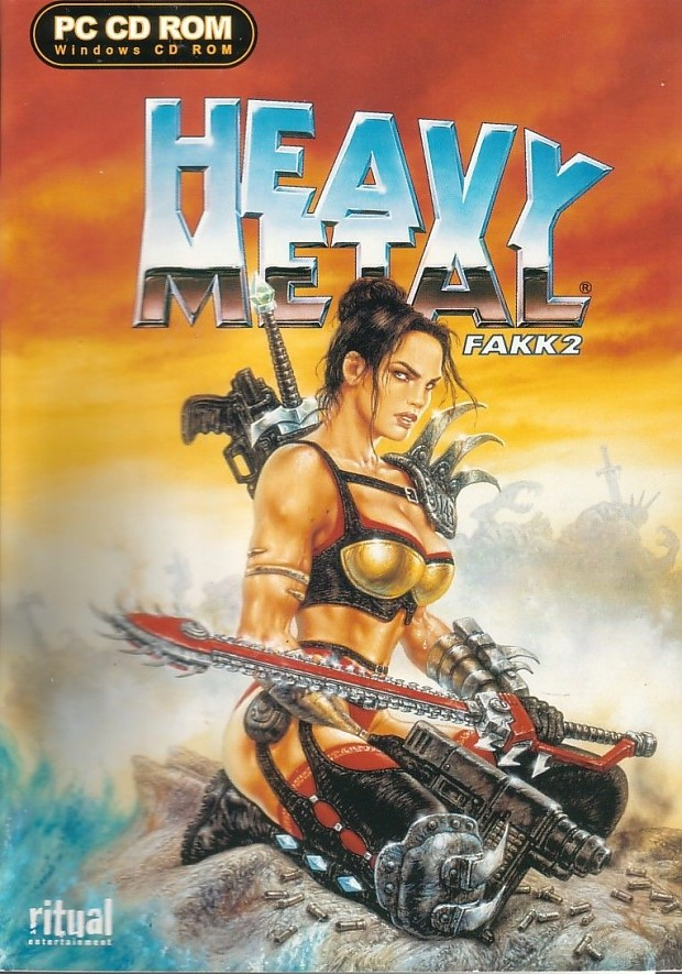 No-CD exe for Heavy Metal FAKK 2 version 1.02
