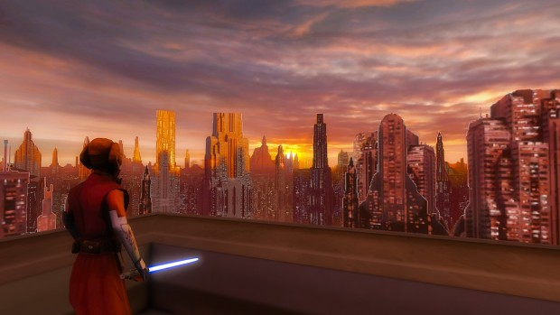 Sunset Over Coruscant