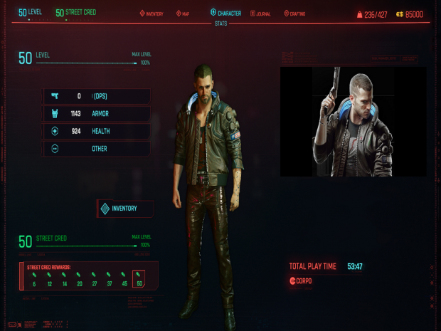 Modded Full Starting Save Act 1 and 2 - Original Male V