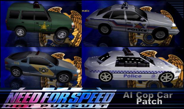 Drivable AI Cop Cars Patch