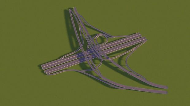 Toronto's Highway 401/400 Interchange