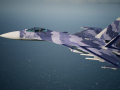 Su-37 -Classic Scarface- replacer version