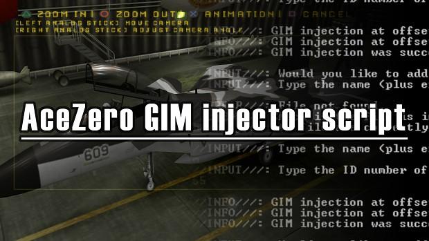 AceZero GIM injector