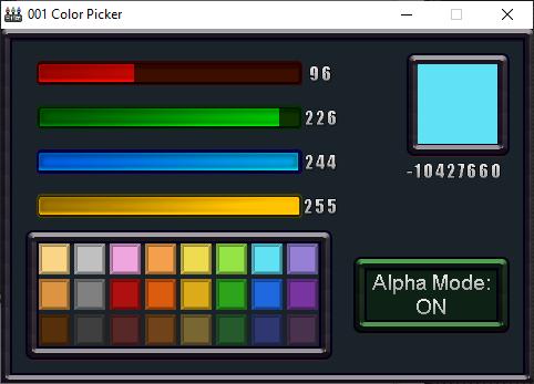 001 Color Picker