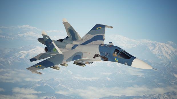 Su-32 -Caballero-