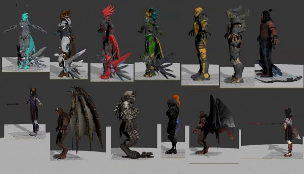 Killer Instinct 3D Models Part 3