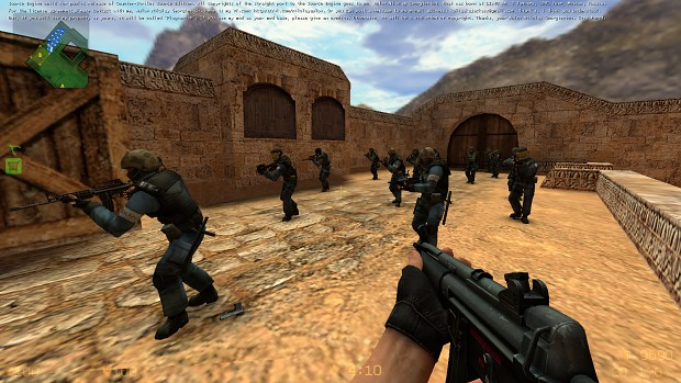 Counter-Strike: Source Edition - Source Engine - Release 1.0 - W.I.P.