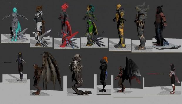Killer Instinct 3D Models Part 11
