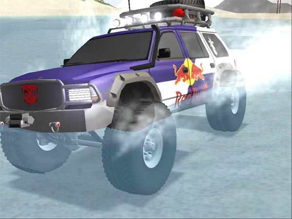 Zarlin's Red Bull Dodge Durango