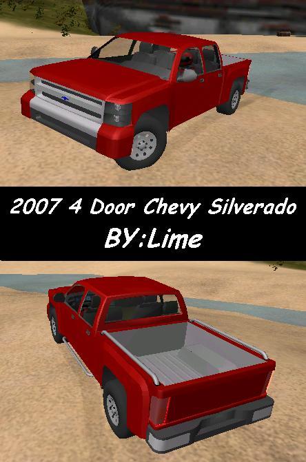 Lime's 2007 Chevrolet Silverado 4-Door