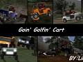 Lime's Goin' Golfin' Cart