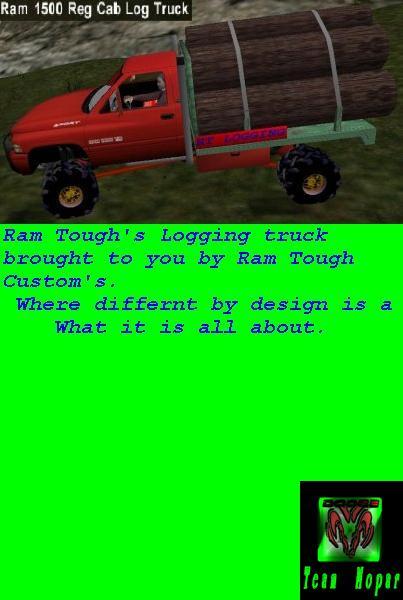 Dodge Ram Logging Truck