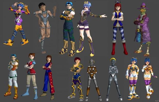 Sudeki 3D Models