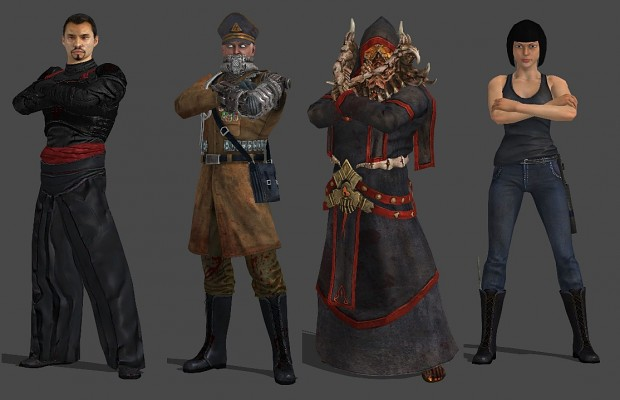 Rise of the Triad 3D models