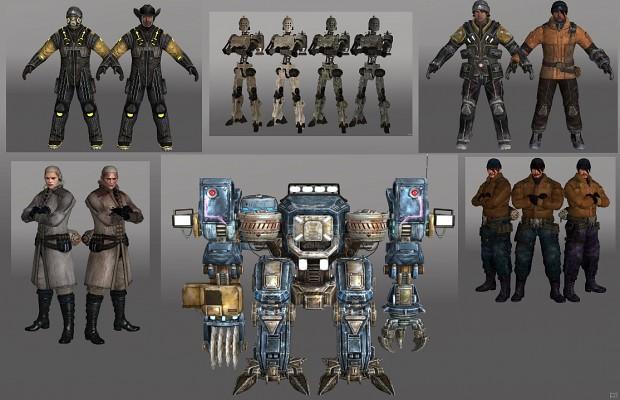 Lost Planet 3D Models