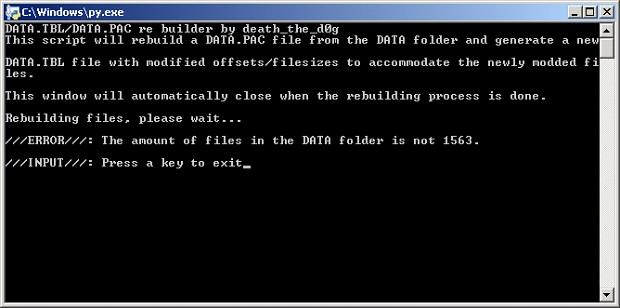 Ace Combat 5/Zero PAC file extractor and rebuilder scripts