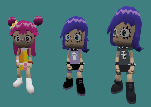 Ami and Yumi Player Models Pack (SC)